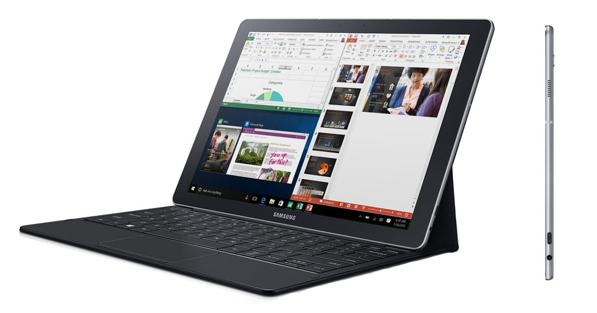 The Samsung Tab Pro S has it peculiarities, but it's otherwise an unique Windows slate