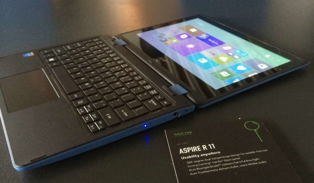 The Aspire R11 is going to be one of the cheapest convertibles on the market