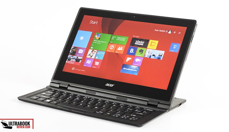 This is the Acer Aspire Switch 12 - a Core M ultraportable with an atypical form-factor