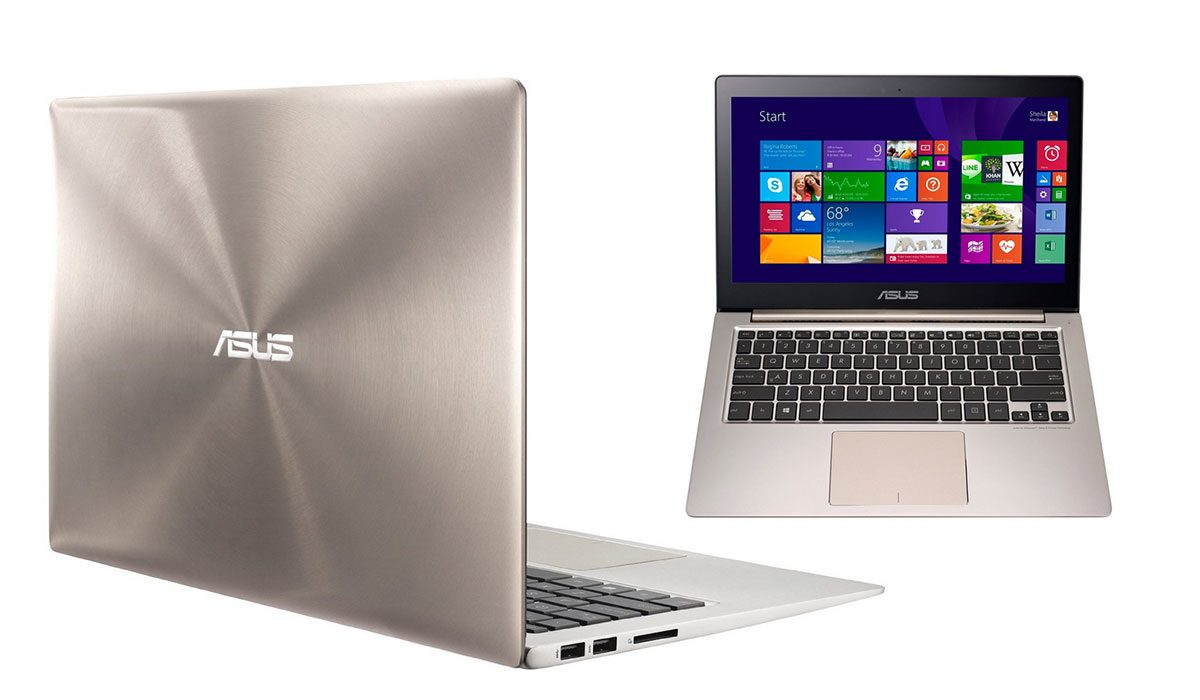 On the outside the Zenbook UX303LB is identical to the UX303LN