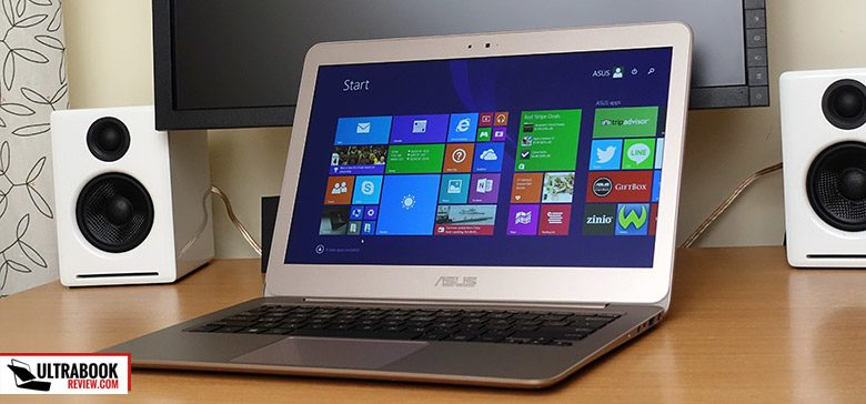 This is the Zenbook UX305LA, one of Asus's better ultrabooks to date