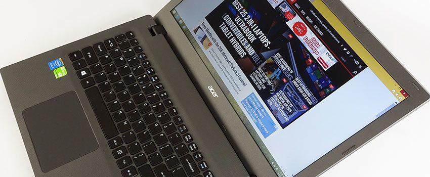 Acer Aspire E15 E5-573G review - good performer for limited budgets