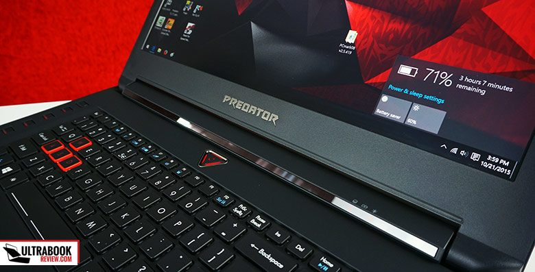 Acer did a great job with the Predator 17, that's why it's on our Recommended list