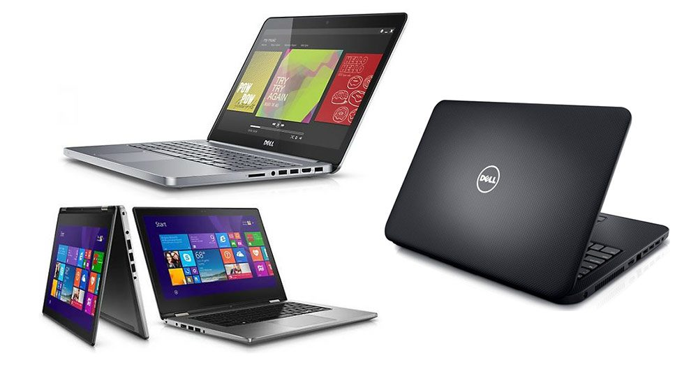 The entire line of Dell Inspiron laptops is available with 6th gen Skylake hardware
