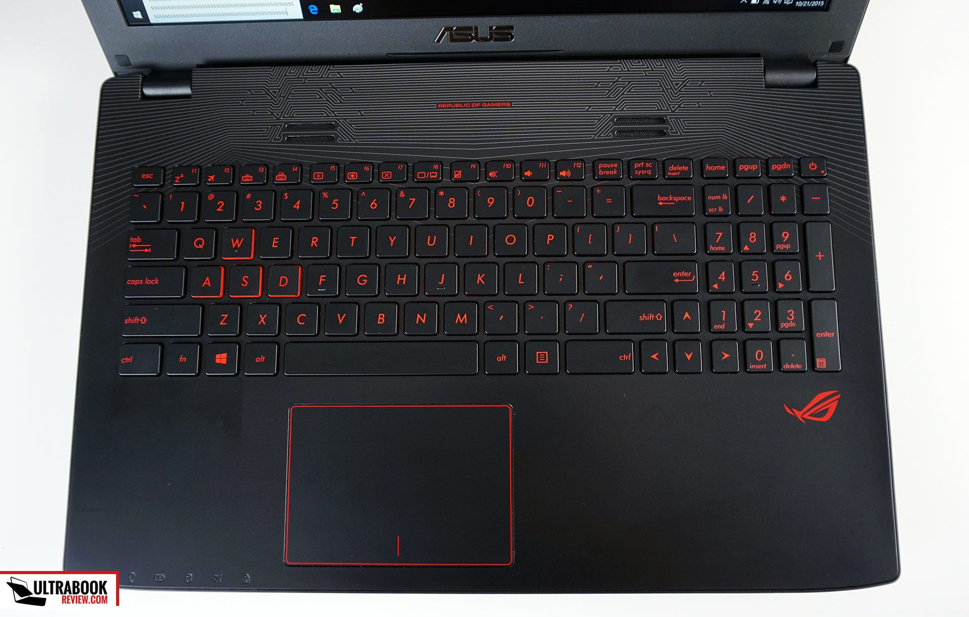 how to use my rog laptop keyboard