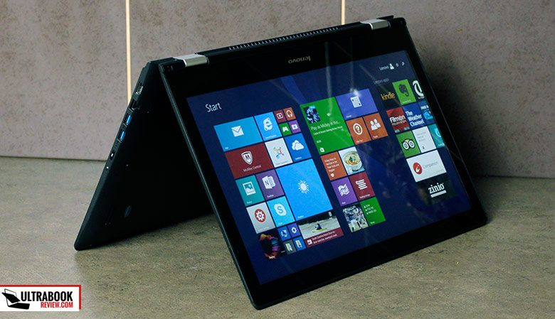 The Yoga 500 packs a 45 Wh battery and offer 3-4 hours of daily use on a charge