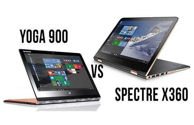 Lenovo Yoga 900 vs HP Spectre X360 - an owner's experience