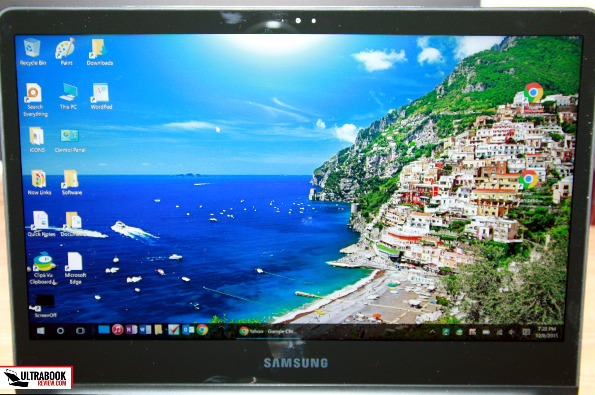 samsung ativ book 9 spin - screen