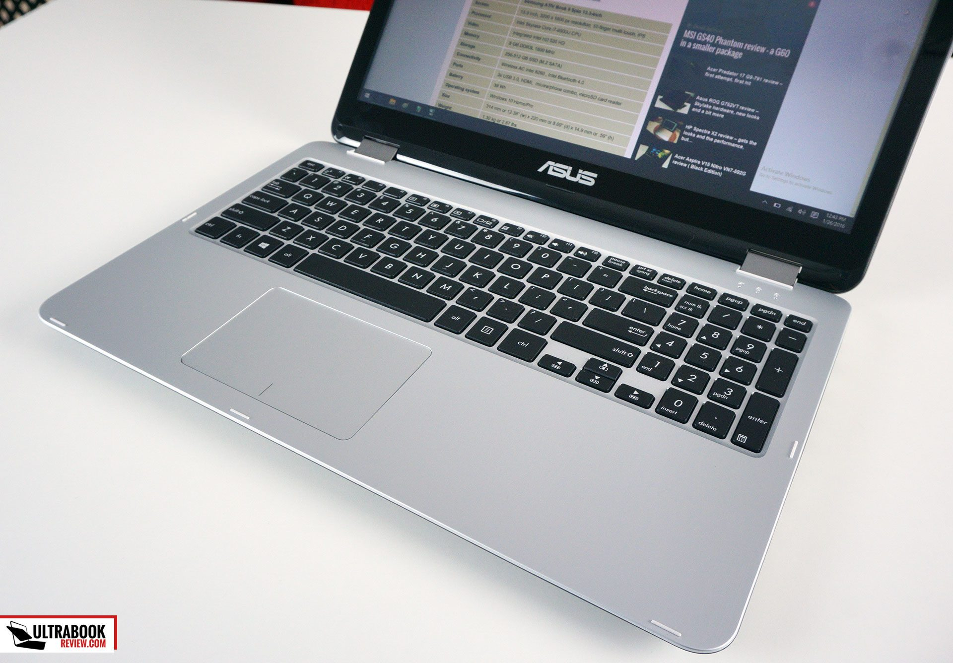 Asus Vivobook TP501UA review - 15-inch convertible notebook