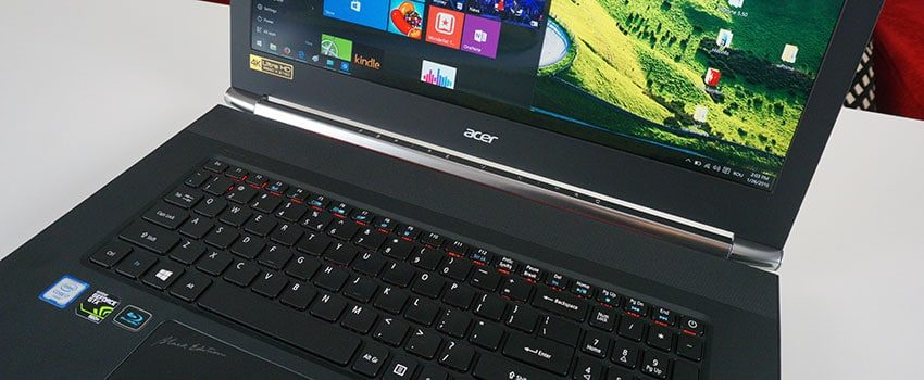 "Acer Aspire V17 VN7-792G review – the 17-inch ""Black Edition"" multimedia laptop"