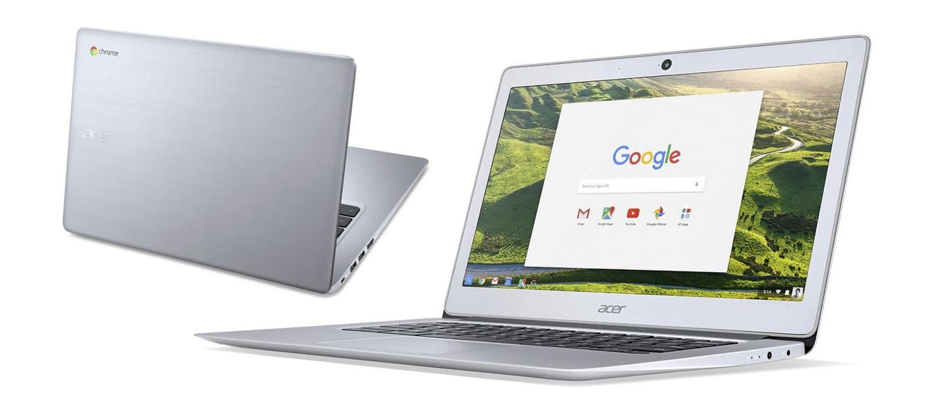 The Acer Chromebook 14 offers fast hardware, an ISP display and an aluminum body, but is heavier and less portable than the other options
