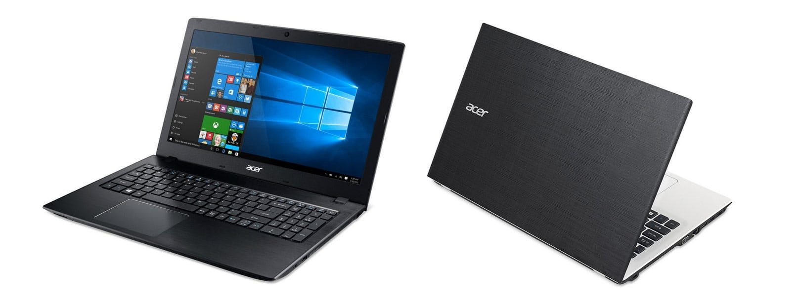 The Acer Aspire E15 is made of plastic, but offers excellent features for the price