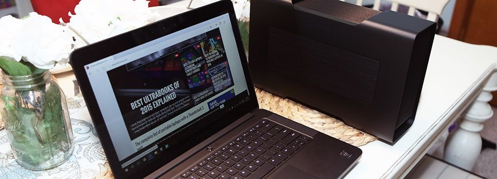 Razer Core review – how it works with the Razer Blade and Dell XPS 15