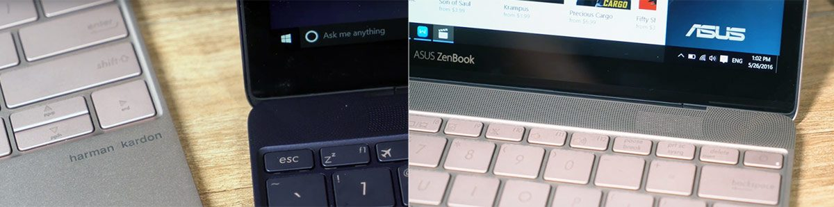 The Audio quality should be solid on the Zenbook 3