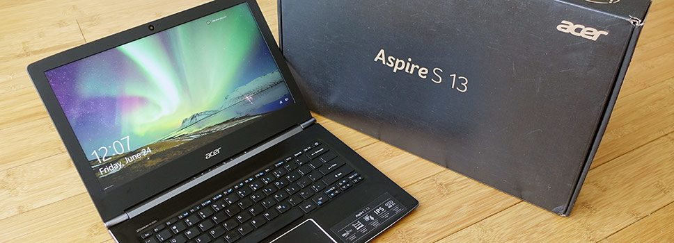 Acer Aspire S13 S5-371 review – solid and affordable 13-inch notebook