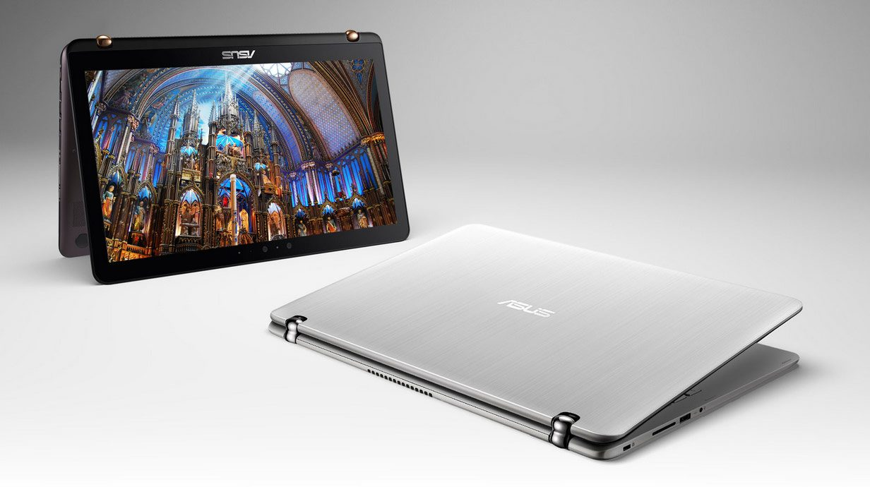 The Zenbook UX560s are convertibles with a 15-inch full-size display