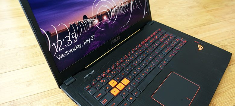Asus ROG Strix GL702VT review - power in a more compact body