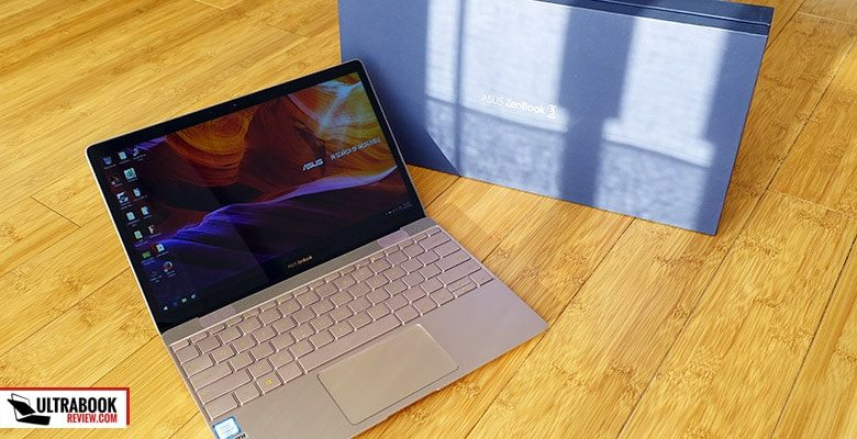 The Zenbooks 3 is an ultra-compact laptop with premium features and traits