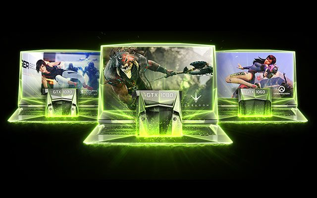 The complete list of laptops with Nvidia GTX 1070 and GTX 1080 graphics