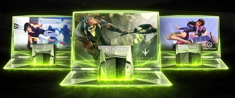 The complete list of portable laptops with Nvidia GTX 1060