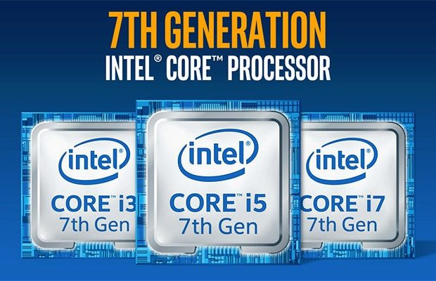 The complete list of Intel Kaby Lake (Kabylake) portable