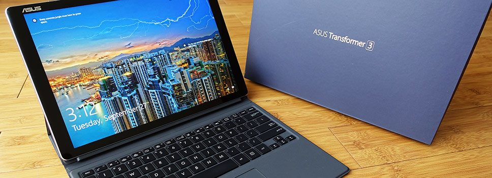 Asus Transformer 3 T305CA preview – a sleek and fanless Kaby Lake tablet