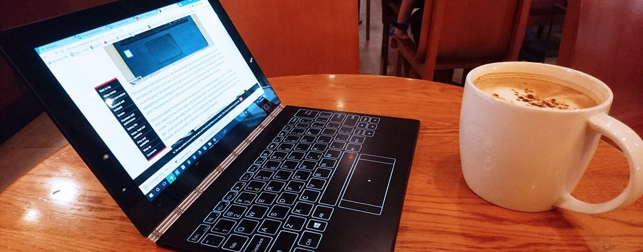 The Lenovo Yoga Book Review Beward Of Keybaord Typos Intentional