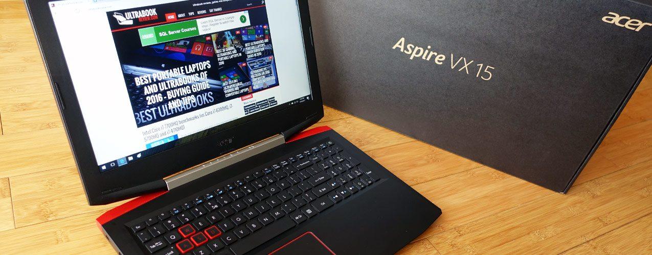 Ulasan Laptop Acer Aspire VX15 VX5-591G