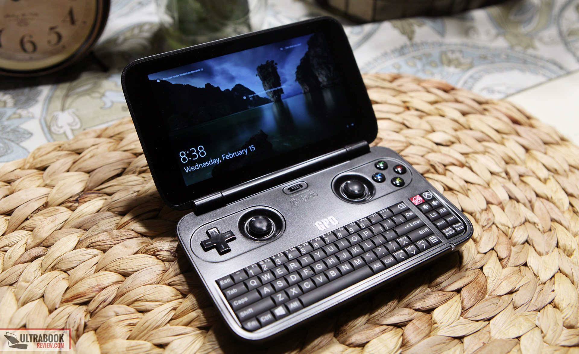 The GPD Win is a mini-laptop with a 5.5-inch screen and a multitude of input options