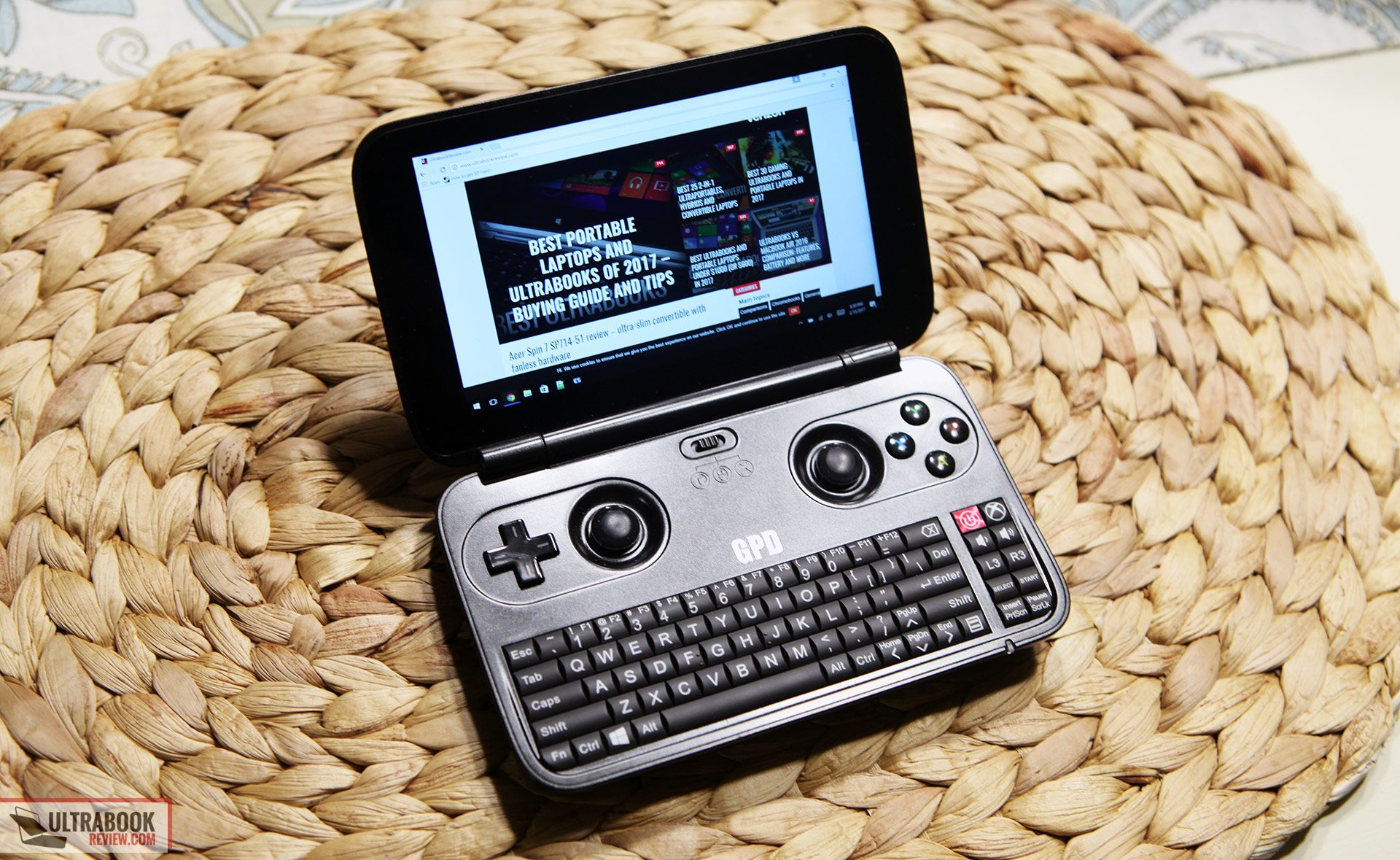 The GPD WIN is such a niche product that it's hard to say who is it actually meant for