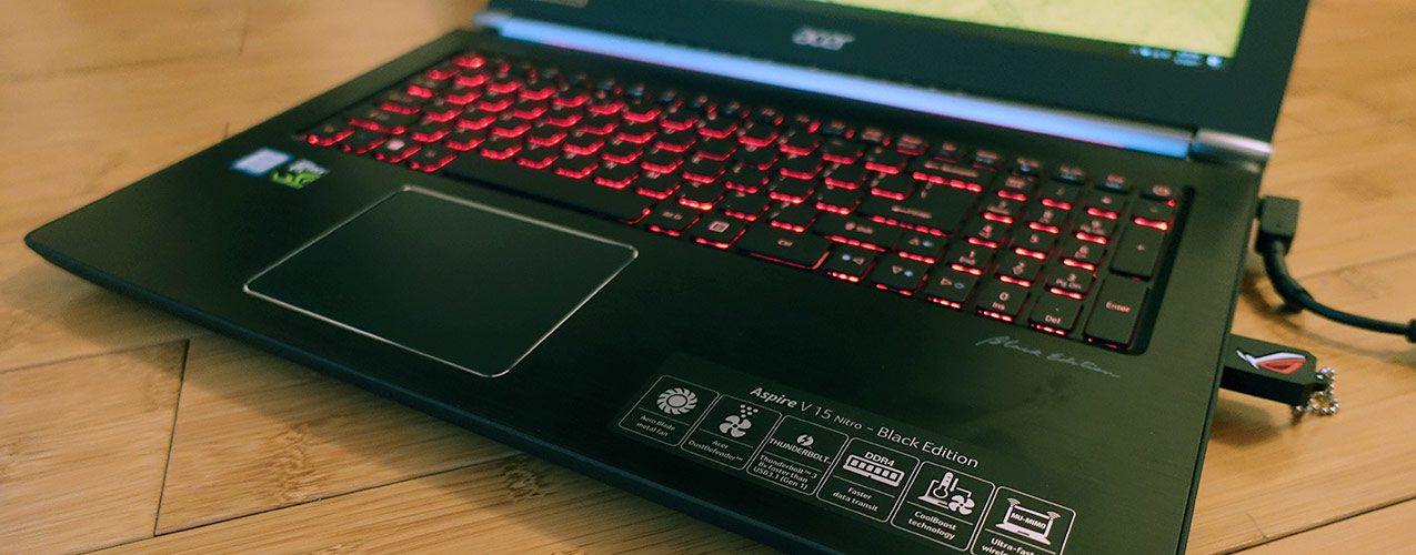 Acer Aspire Nitro V15 VN7-593G Black Edition review – Core i7-7700HQ and Nvidia GTX 1060 configuration