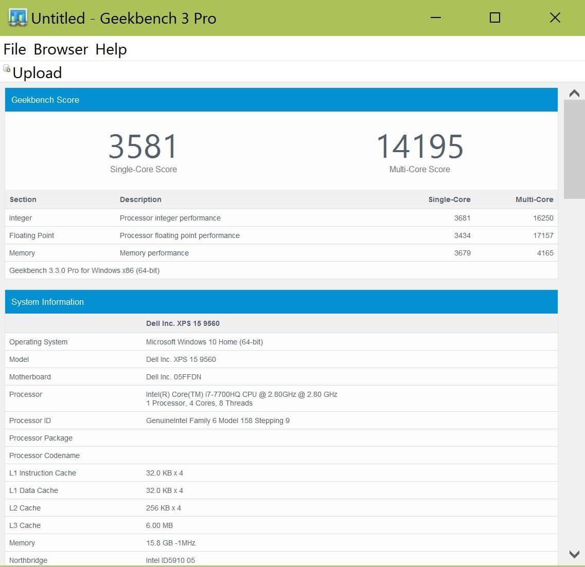 Dell XPS 15 9560 review - Core i7 CPU, Nivida 1050 graphics