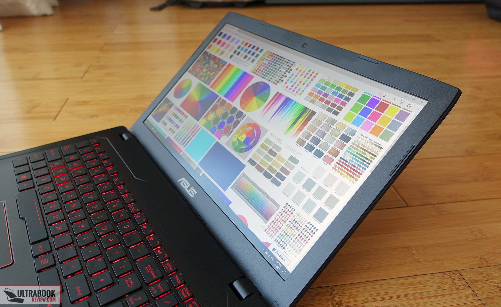 Asus ROG Strix GL553VE review - multimedia laptop with Core