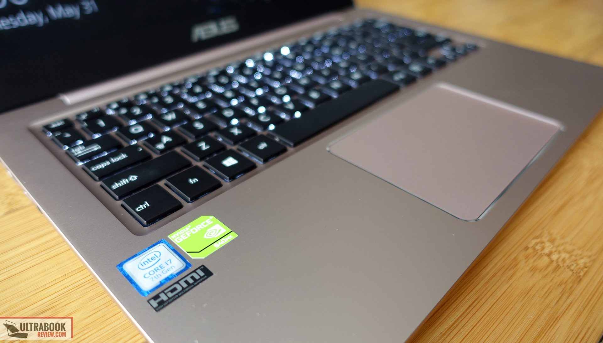 Asus Zenbook UX410UQ (UX3410UQ) review - multimedia notebook in a