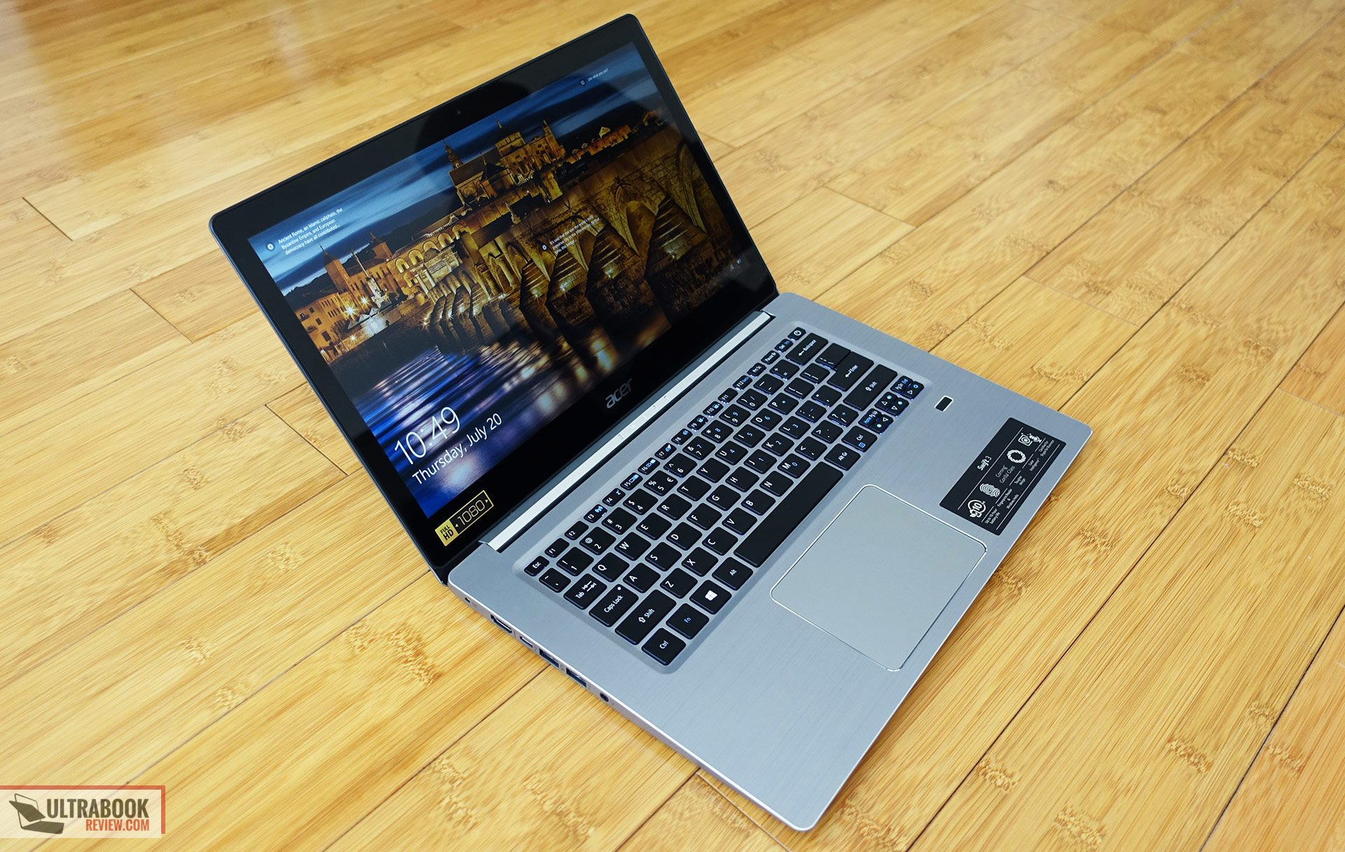 Acer Swift 3 SF314-52 review - budget 14-inch laptop with ...