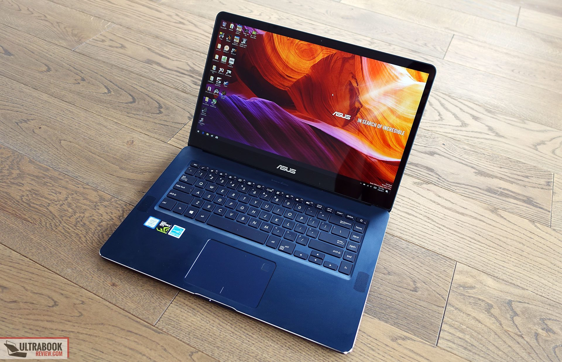 Asus Zenbook Ux550ve Review I7 7700hq Gtx 1050 Ti And