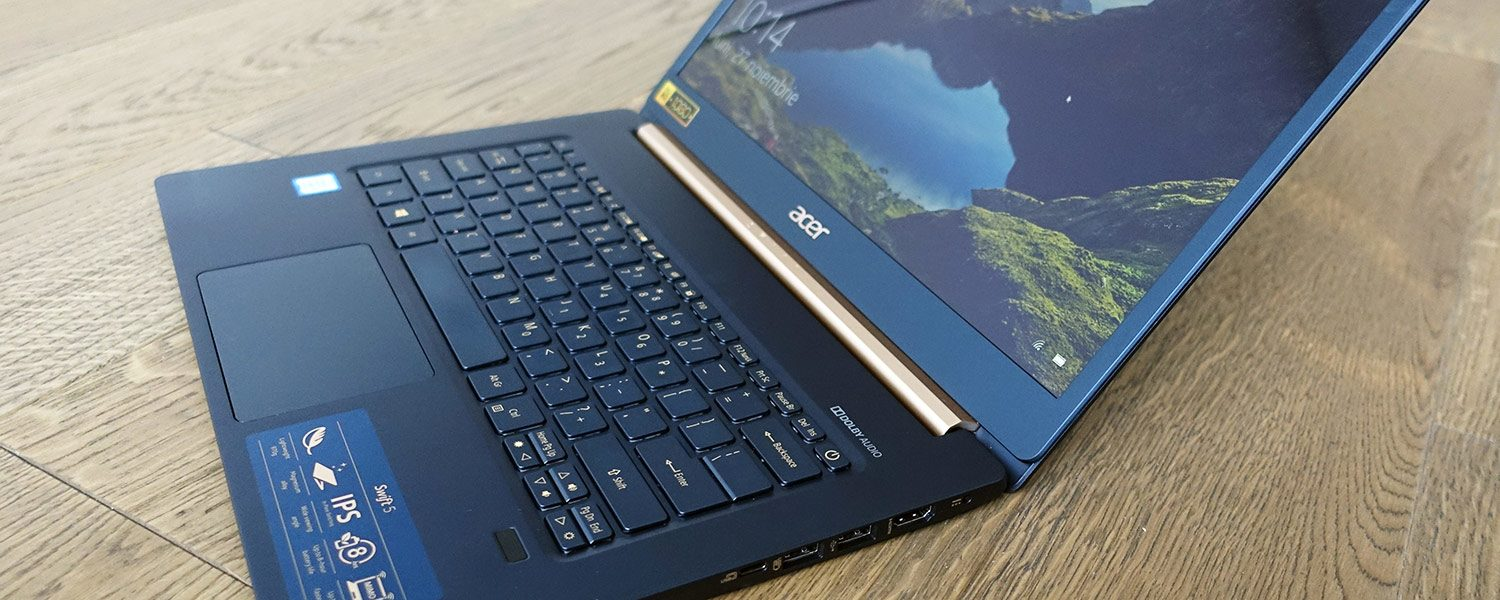Acer Swift 5 SF514-52T review – a modern and extremely light ultrabook