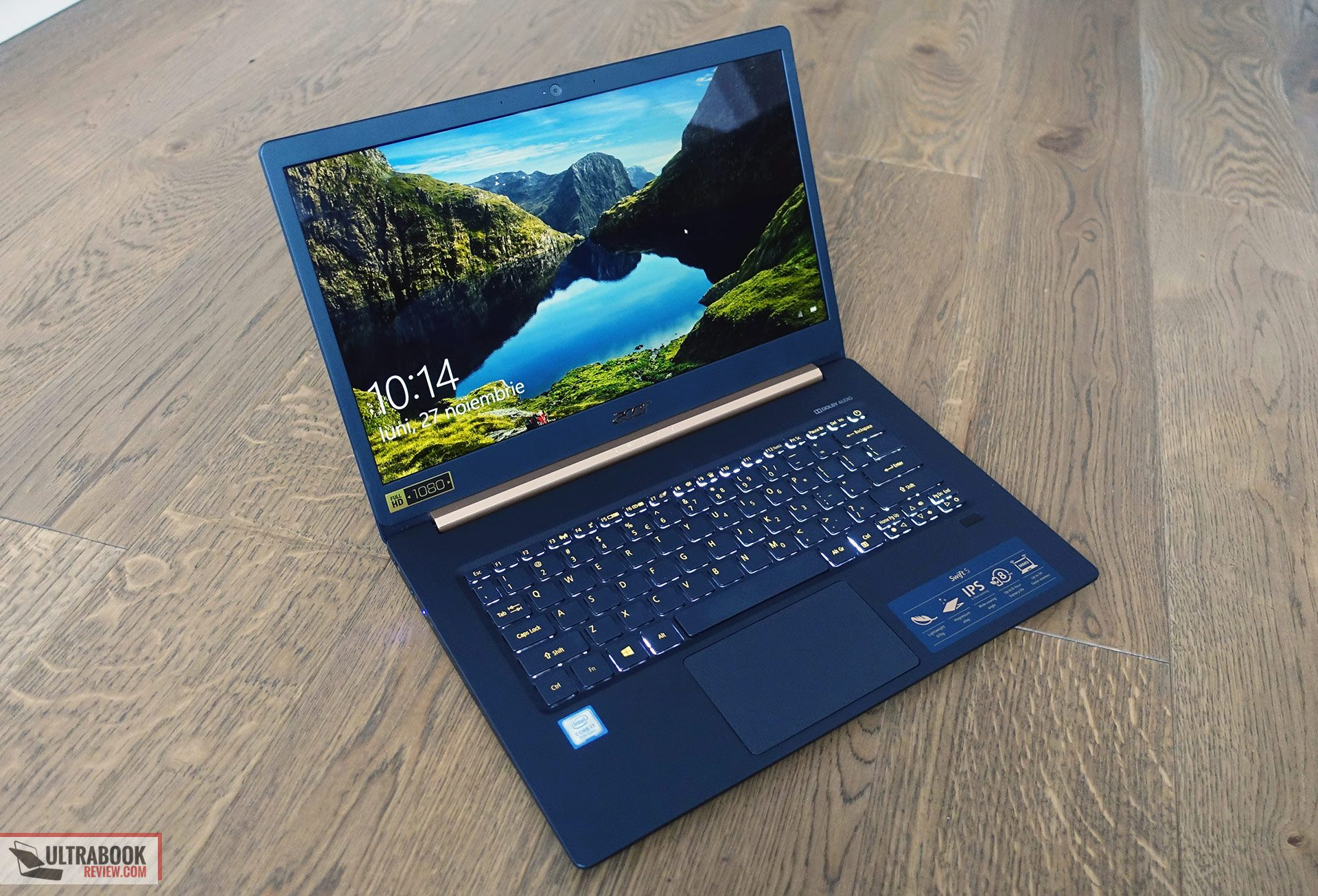 Acer Swift 5 SF514-52T review - a modern and extremely light