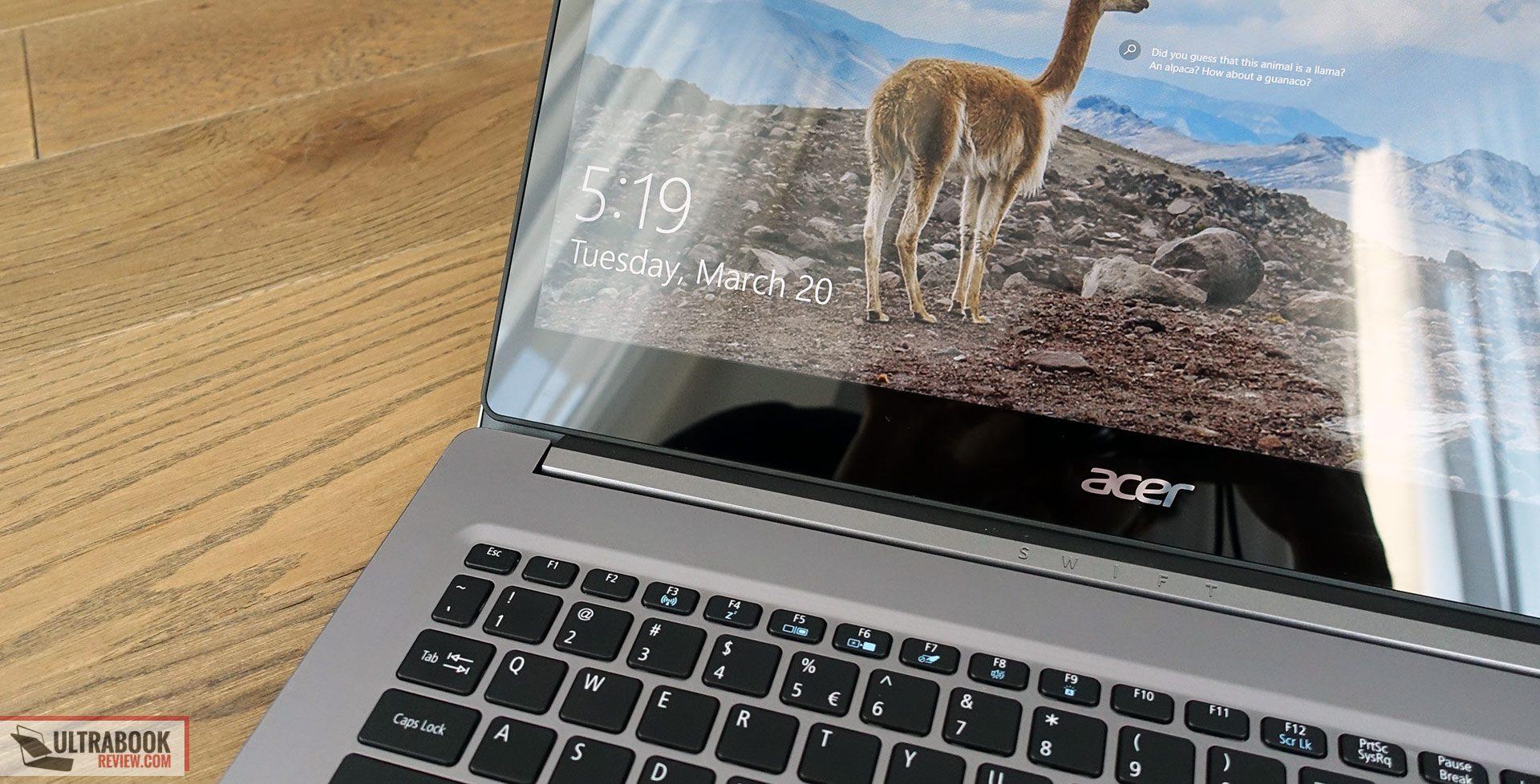 Acer Swift 3 SF315-41 review (AMD Ryzen 7 2700U APU, Radeon RX540