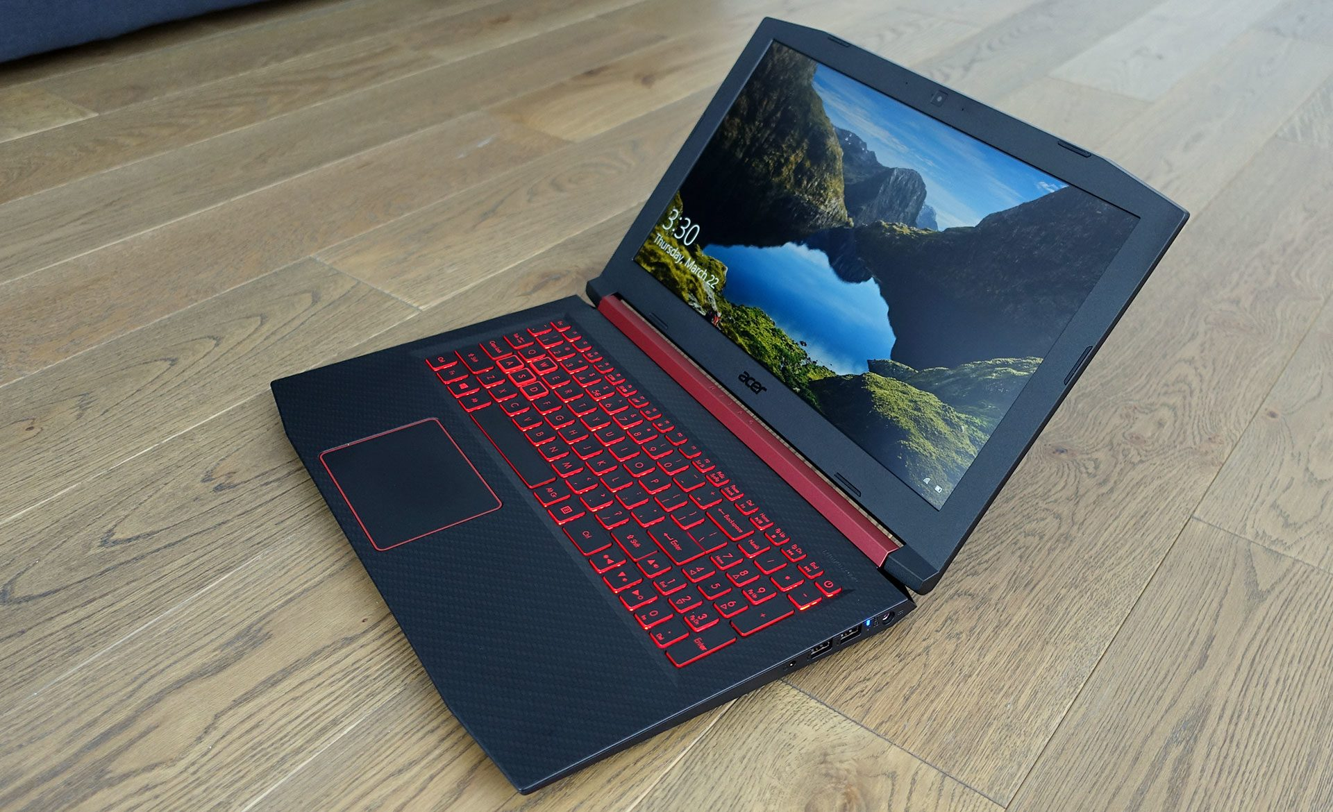 Acer Nitro 5 review (AN515-52 - Core i5, Nvidia GTX 1050 Ti)