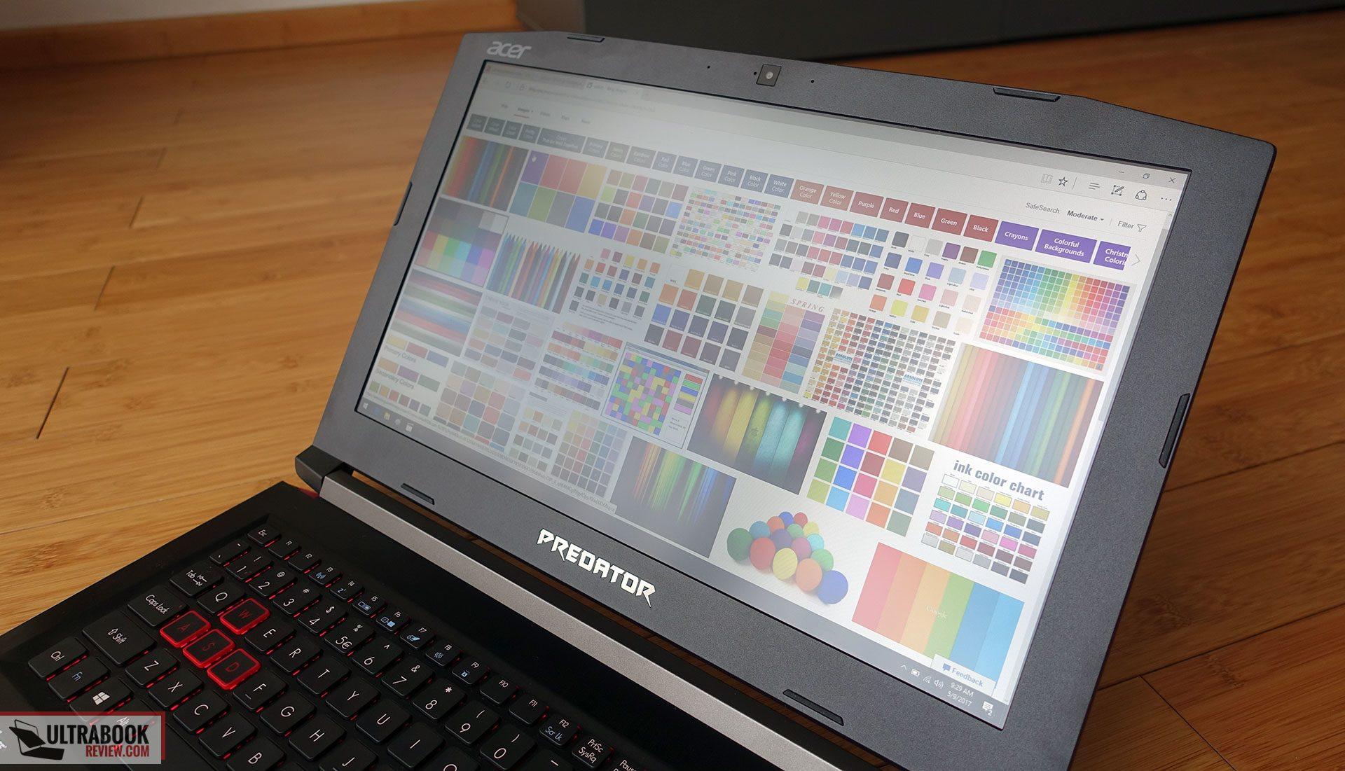 Acer Predator Helios 300 review (PH315-51 model - Core i7-8750H, GTX