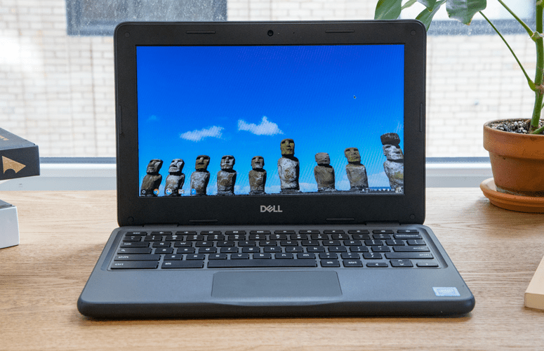 The Dell ChromeBook 5190. (Source: Laptopmag)