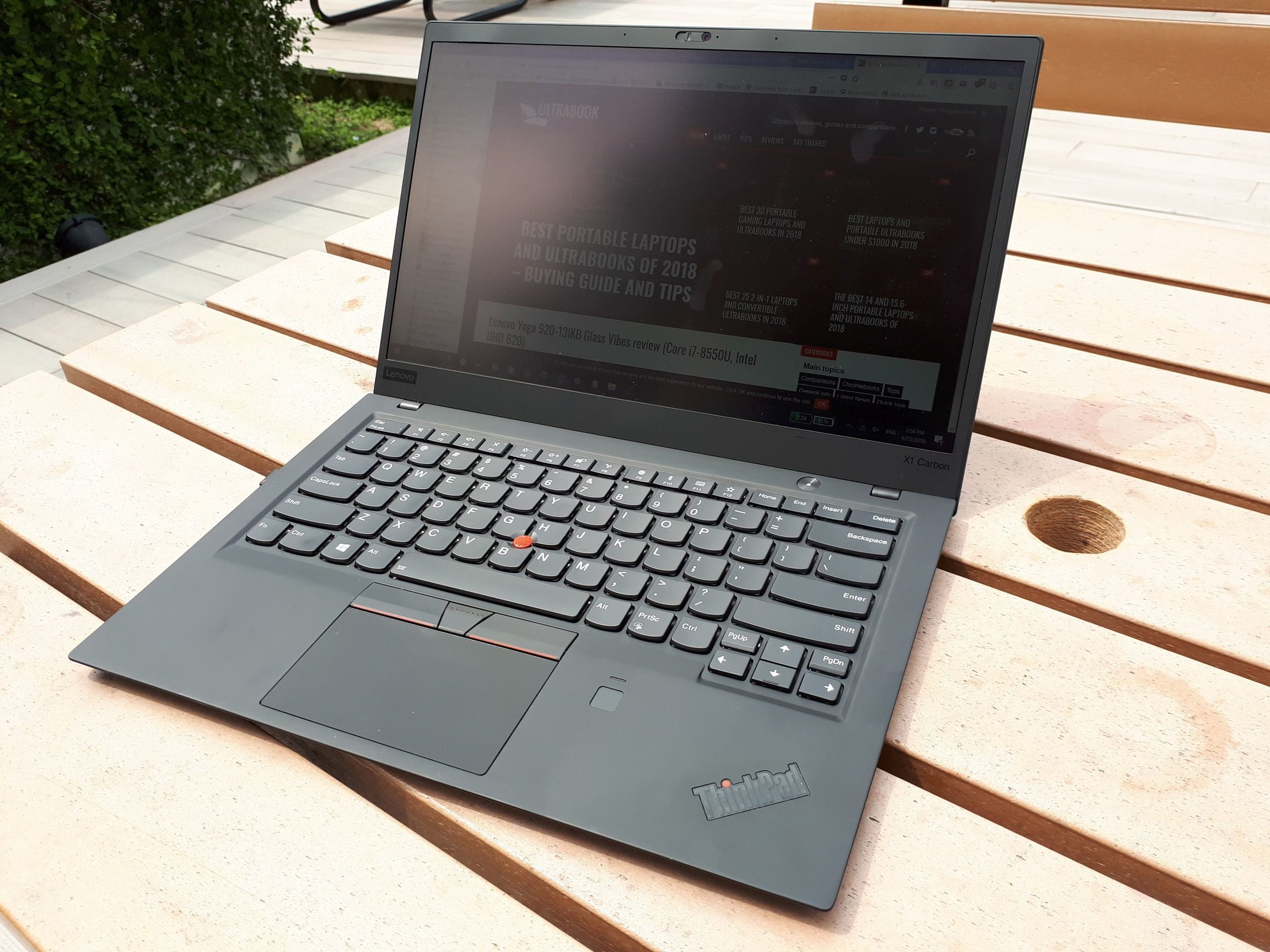 The Lenovo X1 Carbon Gen 6