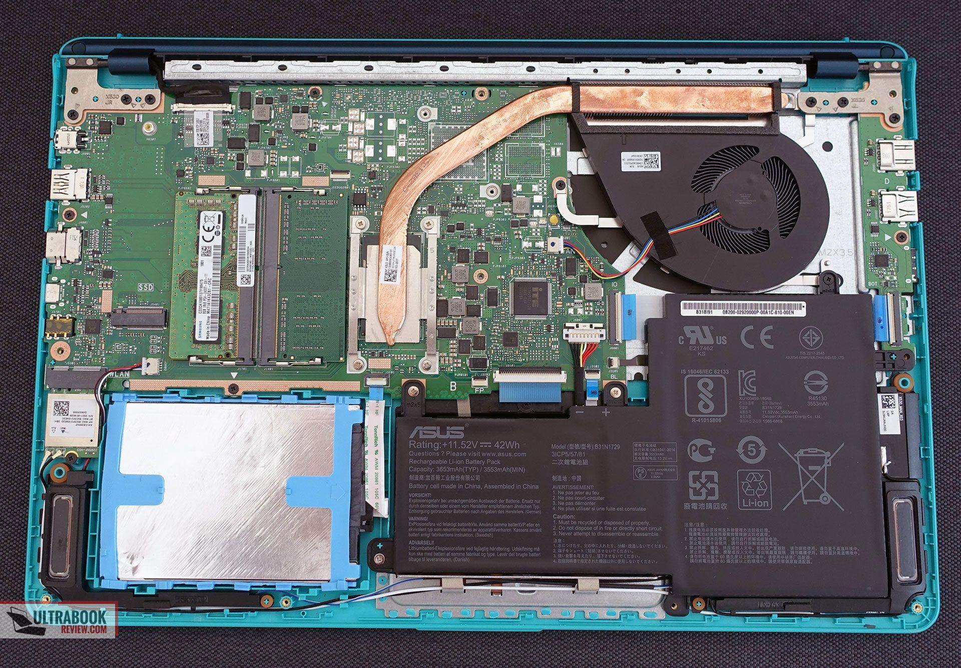 Asus VivoBook S15 S530 review (S530UA - i7-8750U, UHD 620