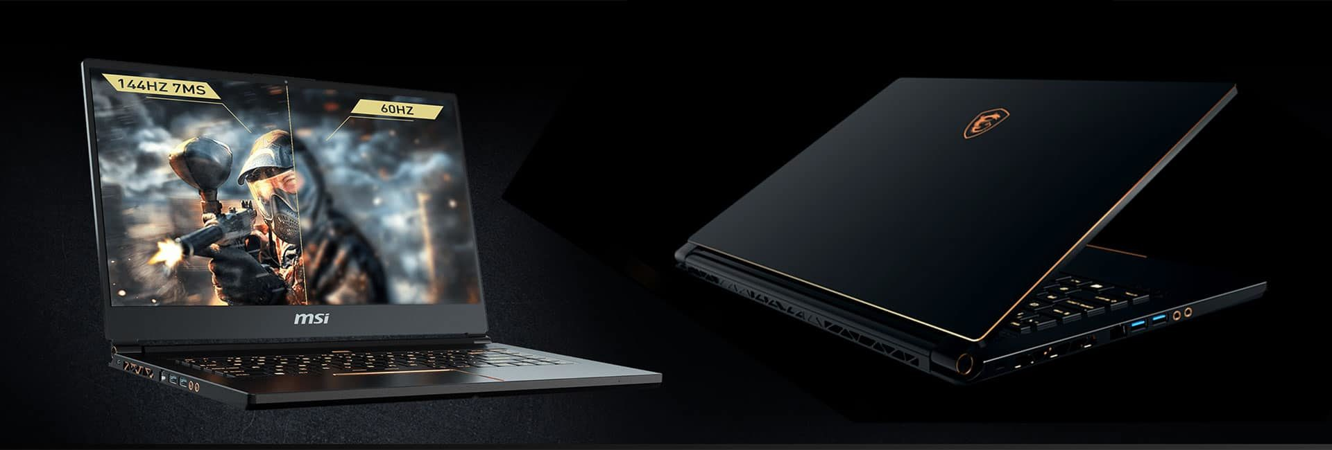 MSI GS65 Stealth Thin - the light and beatiful option