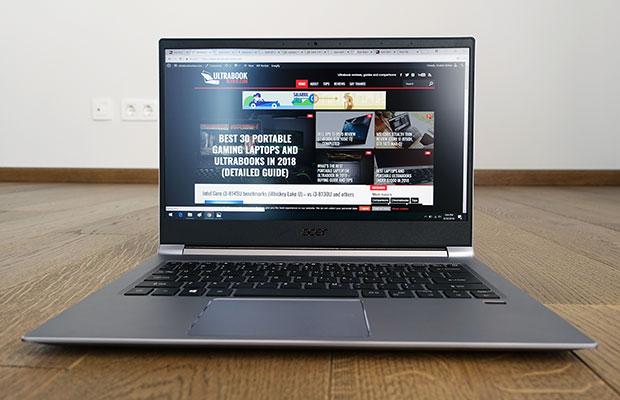 Acer Swift 3 review (SF314-55G 2018 model - i3-8145U a60db92de0