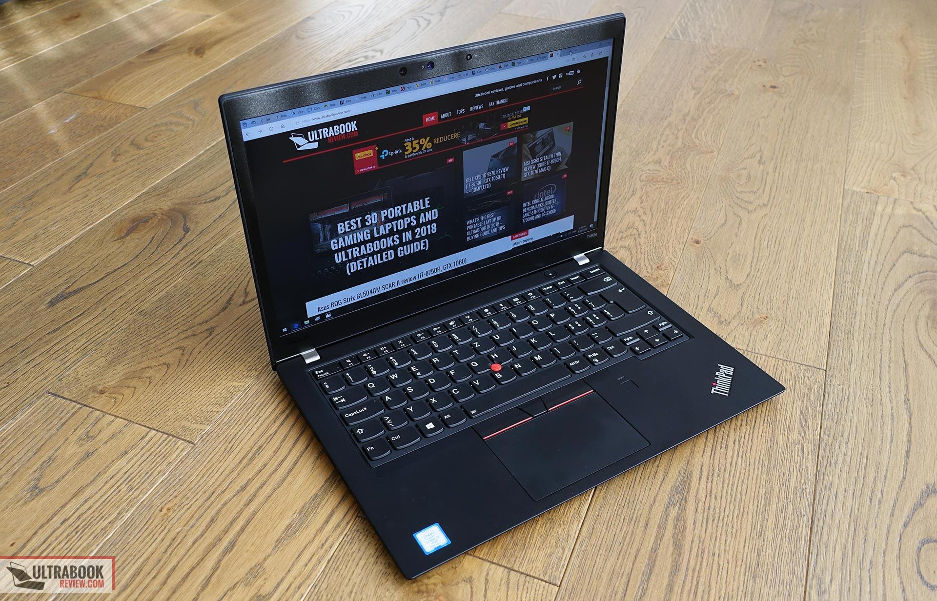 Lenovo ThinkPad T480S review (Core i7-8650U, Intel UHD 620