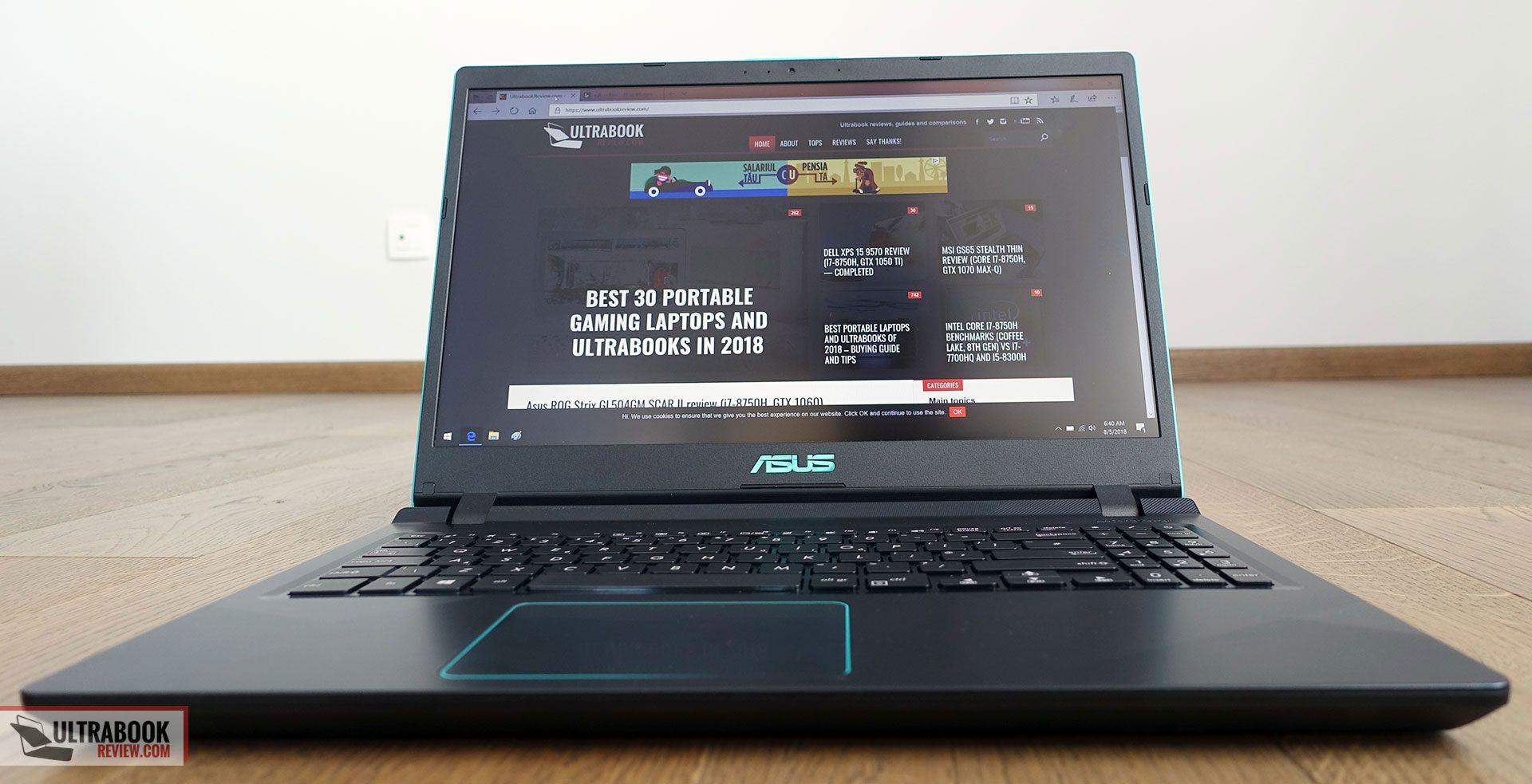 ASUS VivoBook 15 X560UD / K560UD review (Core i5-8250U