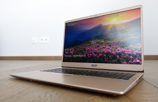 Acer Swift 3 15-inch review (SF315-52G 2018 model - i7-8550U