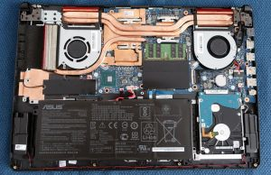 internals and disassembly - Asus TUF Gaming FX705